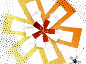 Decorative star image for Advent, Christmas